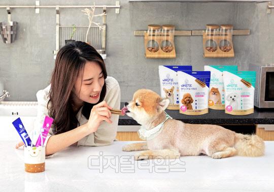 삼성카드, 애경산업과 반려동물 용품 출시
